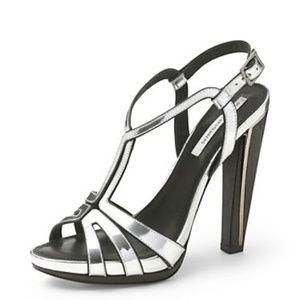 Diane Von Furstenberg DVF Devon T-Strap Heels